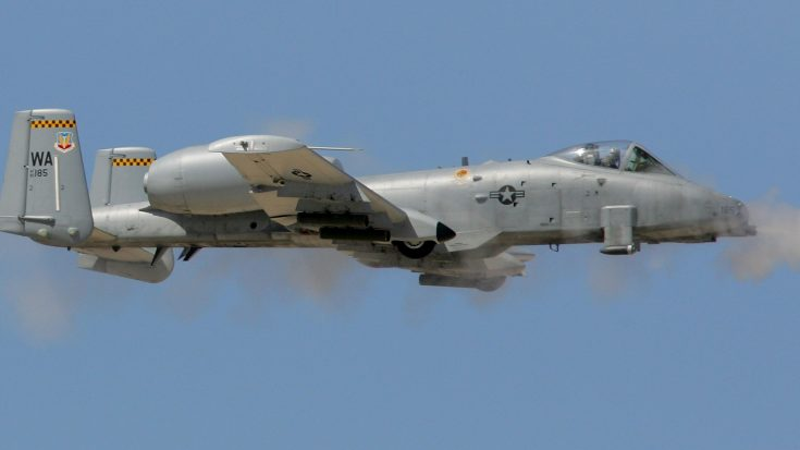 A-10 Thunderbolt Shoots Directly At Camera- This Is How It Feels to Get by 30mm | World War Wings Videos