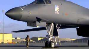 An Interesting Time-lapsed Look Of How To Change A B-1's Tire-It Ain't Easy