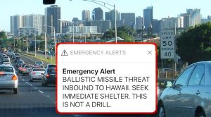 Last Weekend, Hawaii Went Into Nuclear Panic After Wrong Button Was Pressed