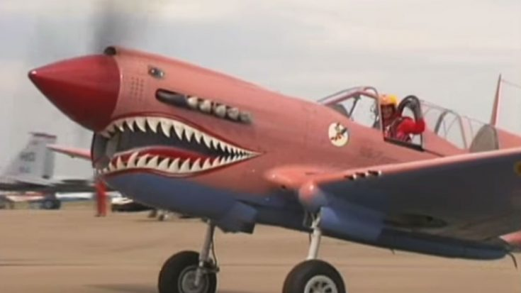 This Pink P-40 Isn't Photoshoped-It Was Actually Brilliant Camouflage | World War Wings Videos