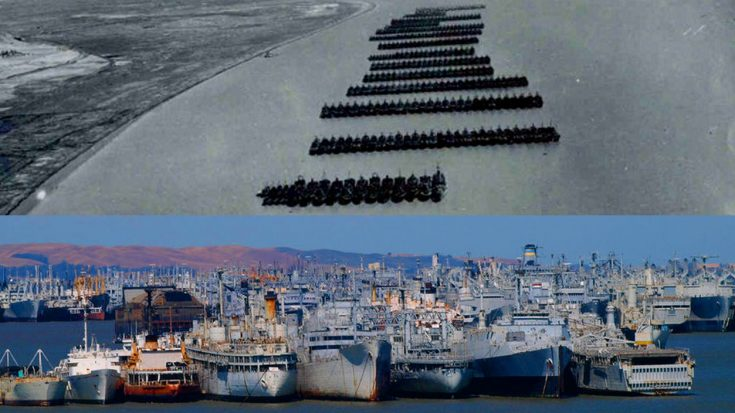 Massive Naval Fleet Has Stood Untouched For Over 70 Years – But Not For Long