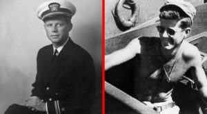 The Unbelievable Act Of Heroism That JFK Earned A Purple Heart In WWII
