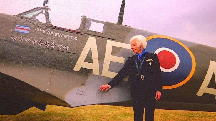 At Age 101 The Last Surviving Female Pilot Of WWII Has Some Strong Feelings About The Spitfire | World War Wings Videos