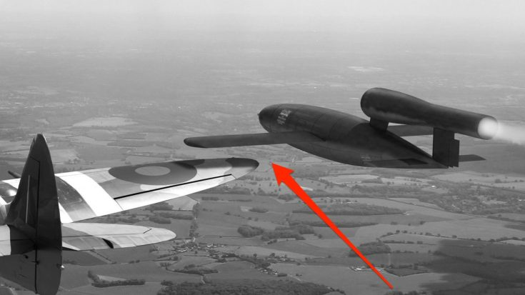 Spitfire Pilots Had An Amusing Method Of Intercepting Flying Bombs | World War Wings Videos