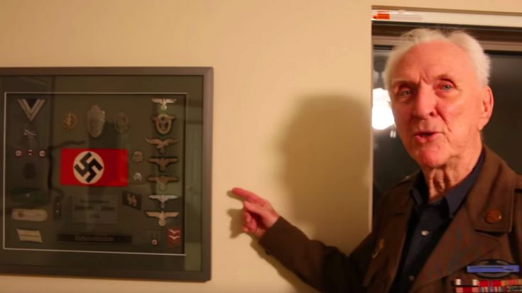WWII Veteran Shows Off War Trophies Taken From Defeated Nazis | World War Wings Videos