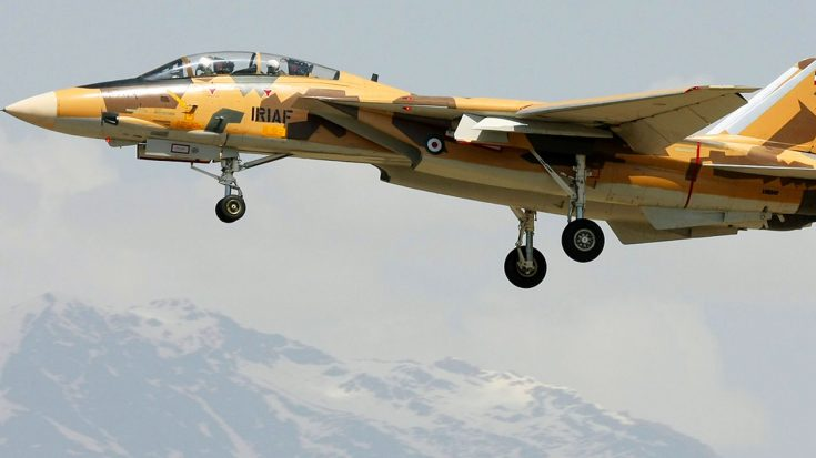 For Those Of You Who Think F-14 Tomcats Are Retired, They're Not | World War Wings Videos