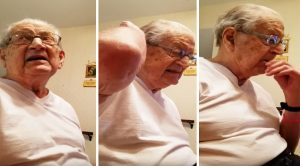 98 Y/O Dad Finds Out How Old He Is-Funniest Video Of The Year