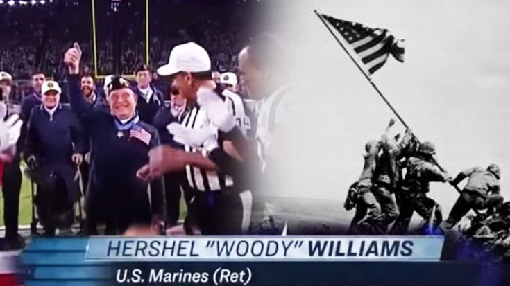 The WWII Veteran Who Flipped The Coin At Super Bowl 52 Had No Business Being There | World War Wings Videos
