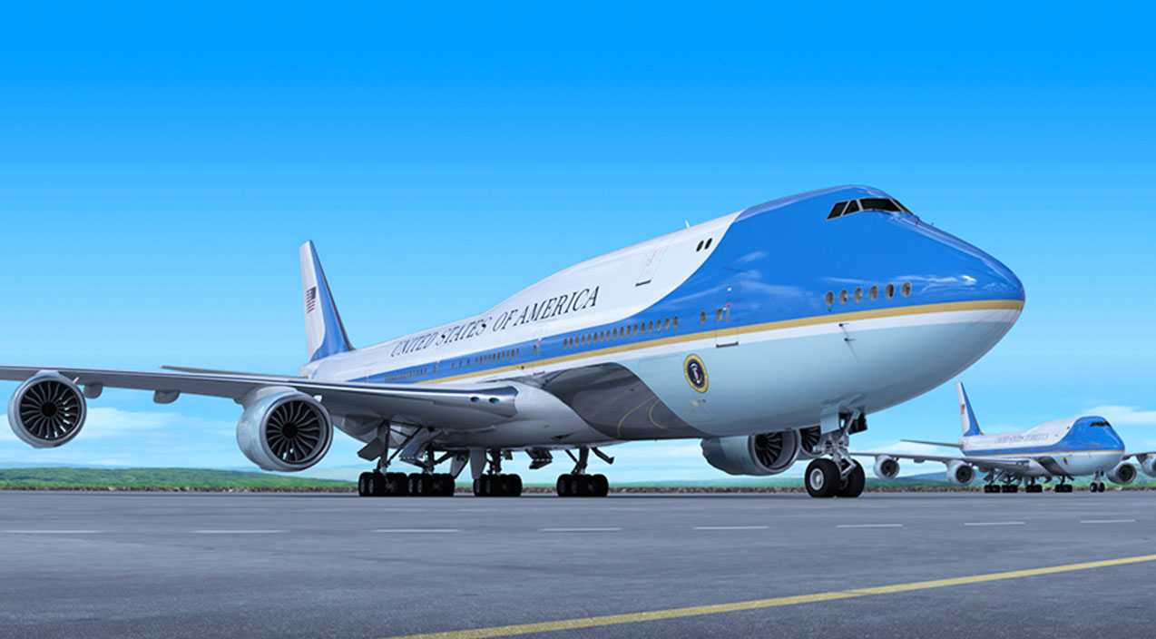 new air force one just revealed here 39 s what 3 9 billion. Black Bedroom Furniture Sets. Home Design Ideas