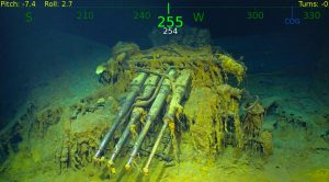 Sub Crew Releases Full Tour Of USS Lexington Wreck – Never Before Seen By Human Eyes