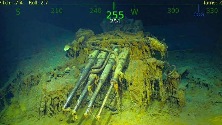 Sub Crew Releases Full Tour Of USS Lexington Wreck – Never Before Seen By Human Eyes | World War Wings Videos
