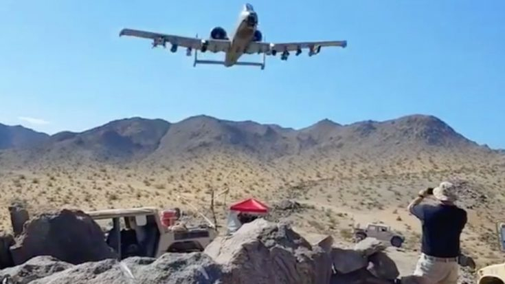 This New A-10 Flyby Video Will Send Shivers Down Your Spine-Guaranteed | World War Wings Videos