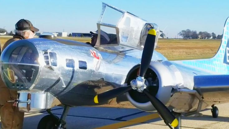 First Ever 1/3 B-17 Replica Piloted By Man Finally Takes Off   World War Wings Videos