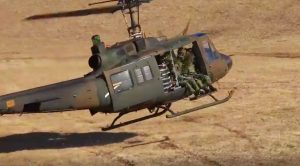 Huey Pilot Shows How NOT To Do A Touch And Go In This Cringing Clip