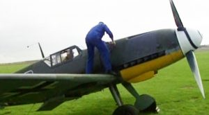 What 2 Guys Have To Do To Get One Bf-109 Going Is Hard Work