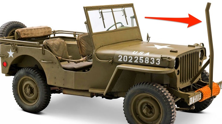 Why Did WWII-Era Jeeps Have Iron Poles? | World War Wings Videos