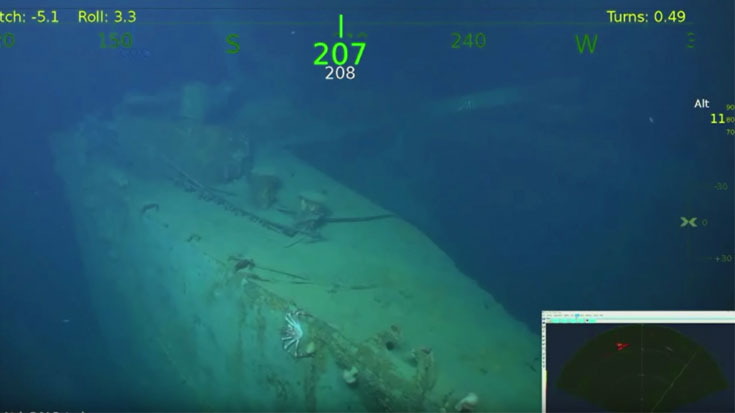 Microsoft Co-Founder Just Discovered Another Sunken WWII Vessel – See The First Images | World War Wings Videos