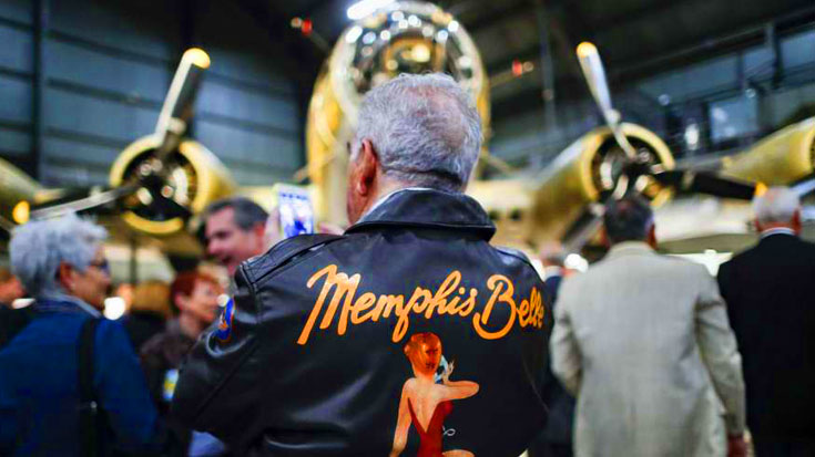 Exclusive Look At Memphis Belle's Private Opening Ceremony – See The First Images | World War Wings Videos