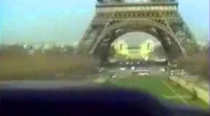 We Finally Found The Footage Of An Aircraft Flying Under The Eiffel Tower