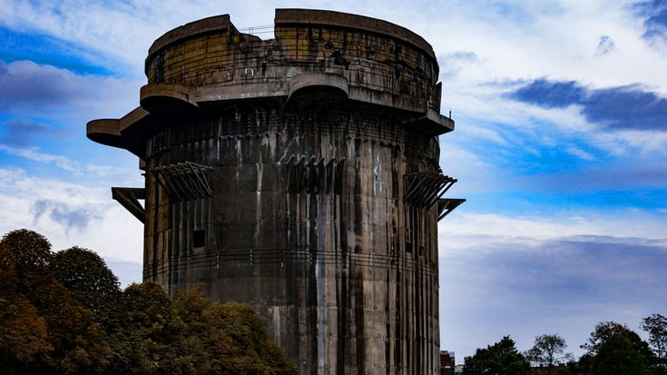 Engineer Reveals Design Secrets Of Germany's Invincible Flak Towers | World War Wings Videos