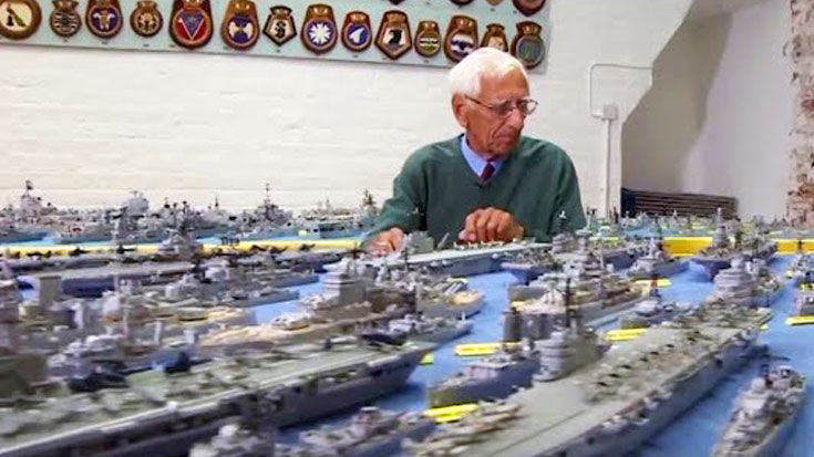 It Took 70 Years For One Man To Build Entire Royal Navy Fleet From Matchsticks | World War Wings Videos
