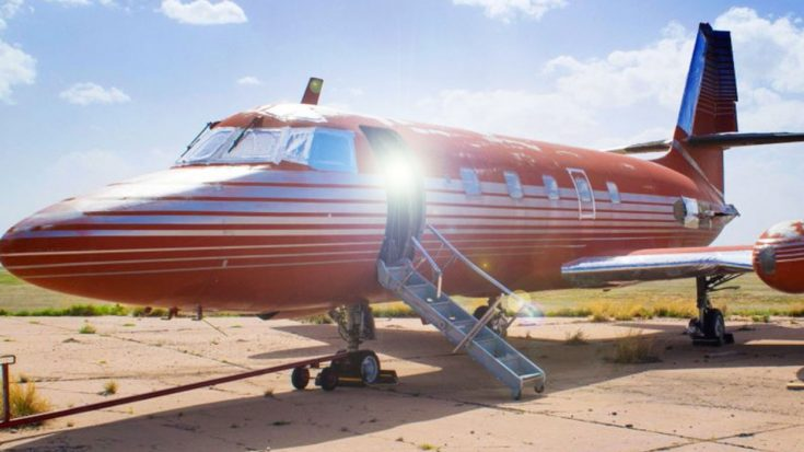 Elvis' Jetstar Is Up For Bid For The Next Few Days-Take A Look Inside | World War Wings Videos