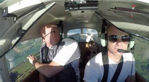 Passenger Breaks Unspoken Rule Of Flying In Tiny Aircraft In This Awful Clip