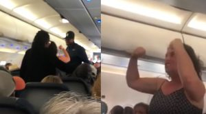 Lady Goes Insane On Flight, Giving Everyone The Spirit Airlines Experience They Paid For