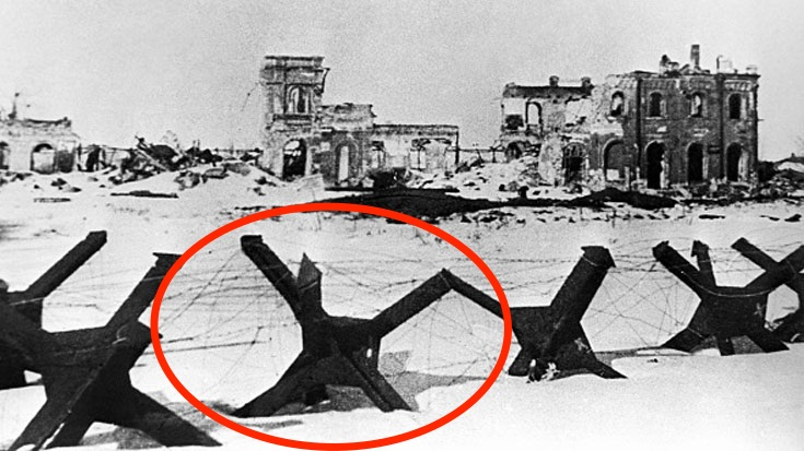 What Exactly Were These Metal Spikes Used For? | World War Wings Videos