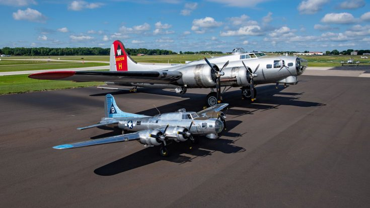 20 Years In The Making, This One Of A Kind 1/3 Scale B-17 Is Now For Sale | World War Wings Videos