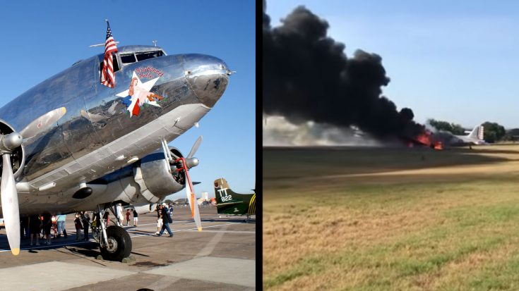 Footage Of Saturday's C-47 Crash Emerges-All 12 Aboard Survived   World War Wings Videos