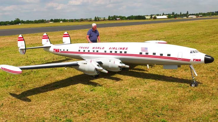 After 5 Years Of Building This Massive RC Connie Finally Takes Off | World War Wings Videos