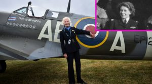 Today We Mourn The Loss Of One Of The Few Remaining Female Spitfire Pilots