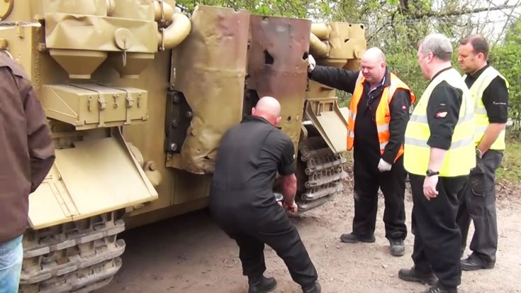 Here's Your Chance To Hear A Real Tiger Tank Fire Up | World War Wings Videos