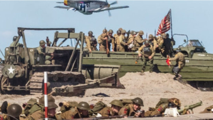 America's Biggest WWII Reenactment Just Created An Upheaval In Military History | World War Wings Videos