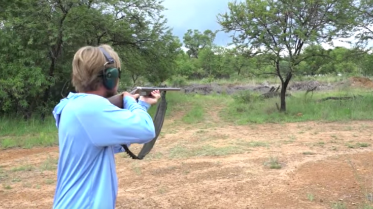 Elephant Gun Fail- 2 Massive Rounds Go Off At Once | World War Wings Videos