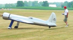 H1 Racer Howard Hughes Flew in 1935- RC Recreation