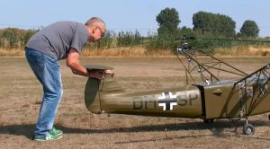 WWII German Rc Helicopter- Focke-Achgelis Fa 223 Dragon
