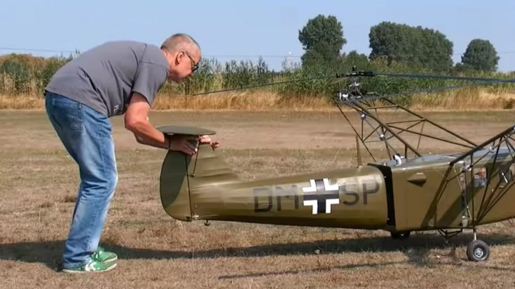 Watch These Guys Fly A Super Rare And Massive WWII Helicopter | World War Wings Videos