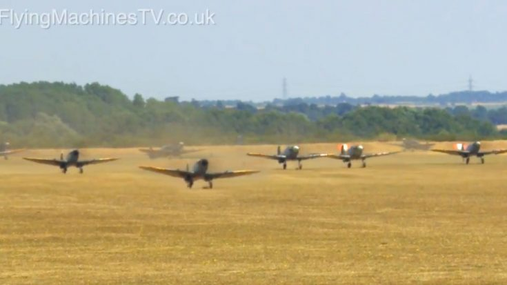There's A New Mass Spitfire Video We Found And We Just Can't Get Over It   World War Wings Videos