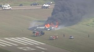 Pilot Of Today's Horrific Crash Actually Made It Out Alive