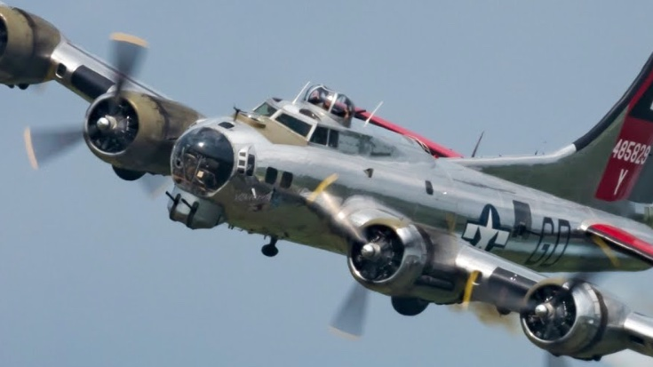 These Massive B-17s Pull Off Crazy Low Flybys | World War Wings Videos