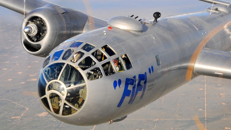 Landing A B-29 By The Numbers | World War Wings Videos