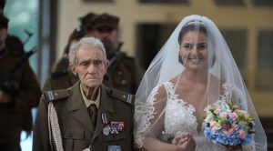 WWII Vet Just Walked Granddaughter Down Aisle And Passed 2 Days Later