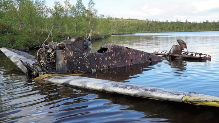 Long-Long Bf-109G2 Just Recovered From Russian Lake, See The First Images | World War Wings Videos