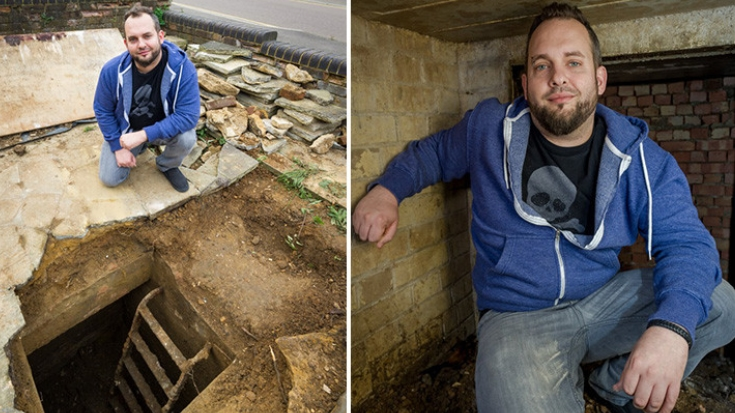 UK Man Discovers Lost WWII Relic Hidden Under Driveway | World War Wings Videos