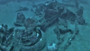 Sunken B-24 Wreckage Recovered From Pacific After 74 Years