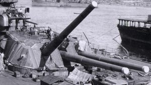 This Warships Guns Weighed More Than American Battleships