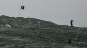 ISIS Put Their Flag On Top Of A Hill And Got Immediately Bombed To Hell