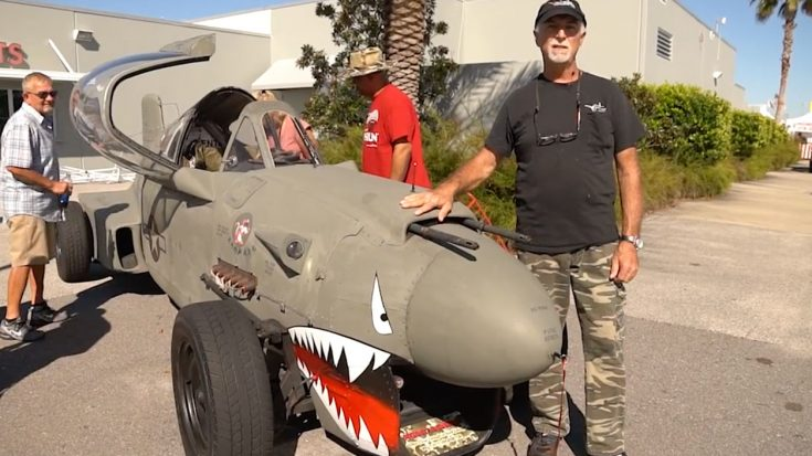 Take A Tour Of The World's Only P-40 Rat Rod – The Cockpit Is A Work Of Art | World War Wings Videos